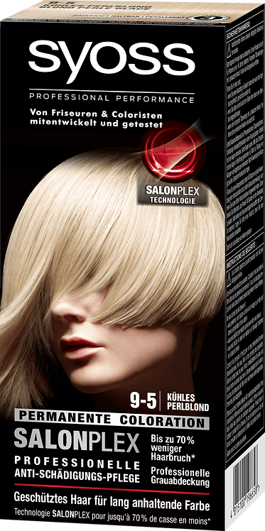 Syoss Coloration 9-5 Cool Perlblond, 115 ml