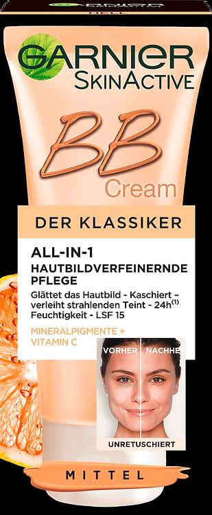 Garnier Tinted Day Cream BB Cream Miracle Skin Perfecter Medium to Dark, 50 ml