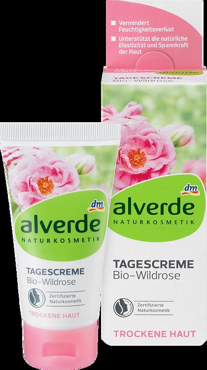 Day cream organic wild rose, 50 ml