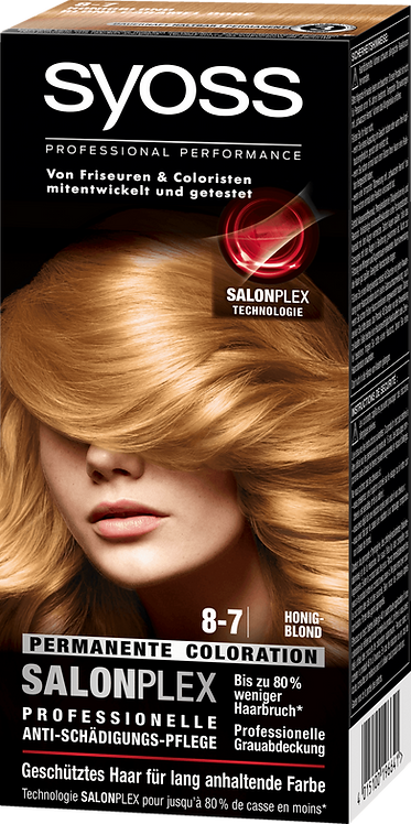 Syoss Coloration 8-7 Honey Blonde, 115 ml