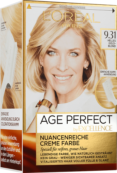 Excellence Coloration Age Perfect Bright Goldblond 9.31, 1 pc