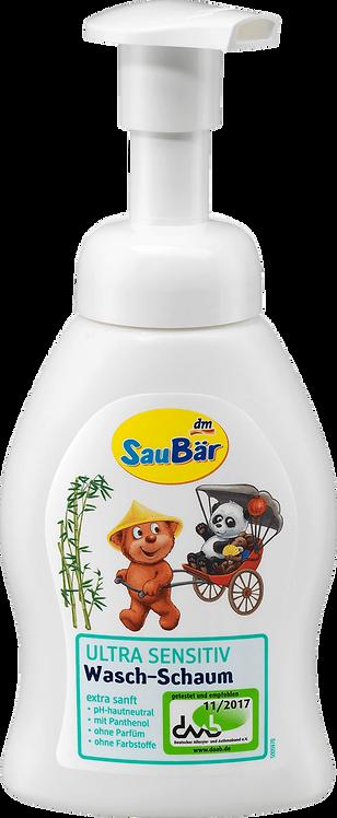 Ultra sensitive Children & Babe Washing foam Vegan, 250 ml
