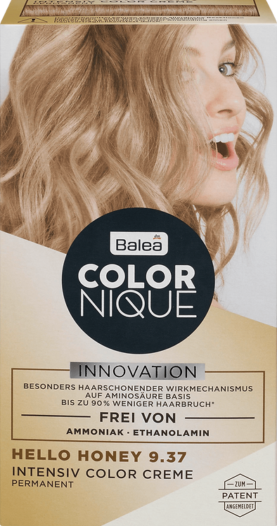 Balea COLORNIQUE Intensive Color Cream Hello Honey 9.37, 145 ml