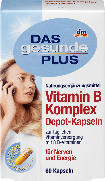 Vitamin B Complex Depot Capsules, 60 St