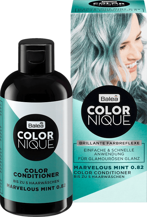 Balea COLORNIQUE Color Conditioner Marvelous Mint 0.82, 200 ml