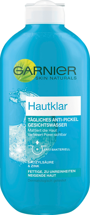 Garnier Skin-clear Anti-acne and Anti-pimple Toner, 200 ml