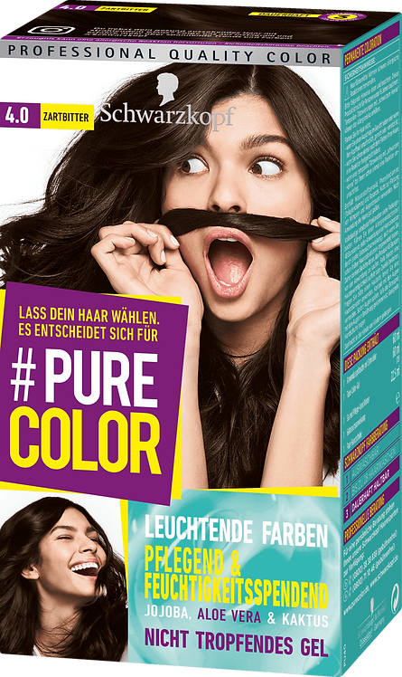 Schwarzkopf #Pure Color Dark hair color 4.0, 1 pc