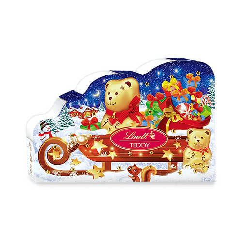 Lindt Premium Christmas Teddy advent calendar, 265g