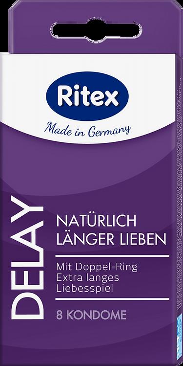 Ritex Delay condoms, 8 pcs