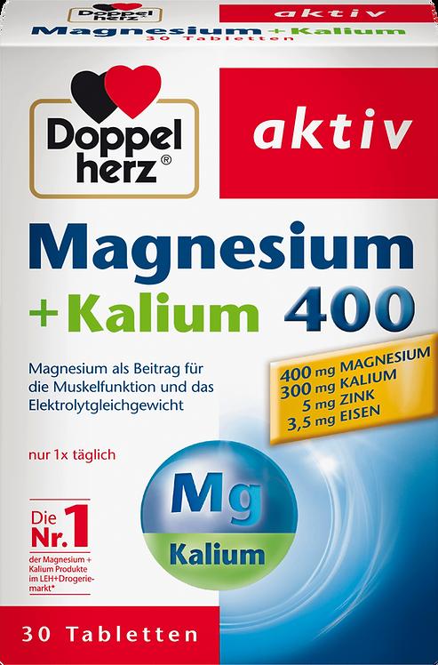Magnesium + potassium tablets 30 pieces, 57.2 g