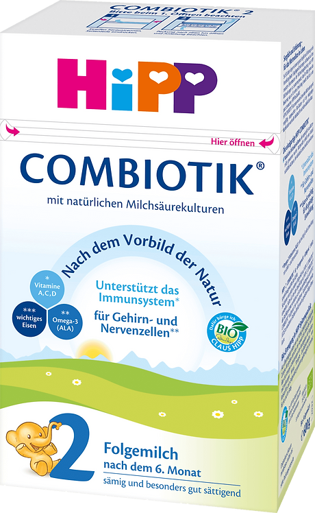 HiPP Follow-on Milk Stage 2 Bio Combiotic After the 6th month, 0.45 l