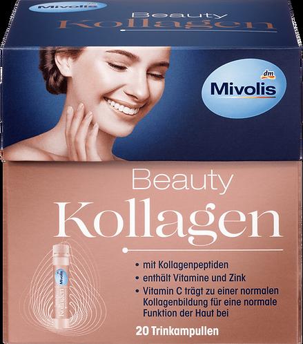 Mivolis Beauty Collagen, Drinking Supplement with Collagen 20 Pieces , 500 ml