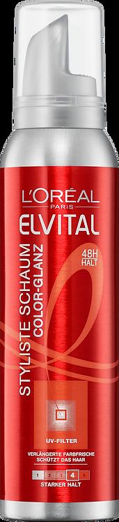 Elvital Mousse Stylist Color-Glanz, 150 ml