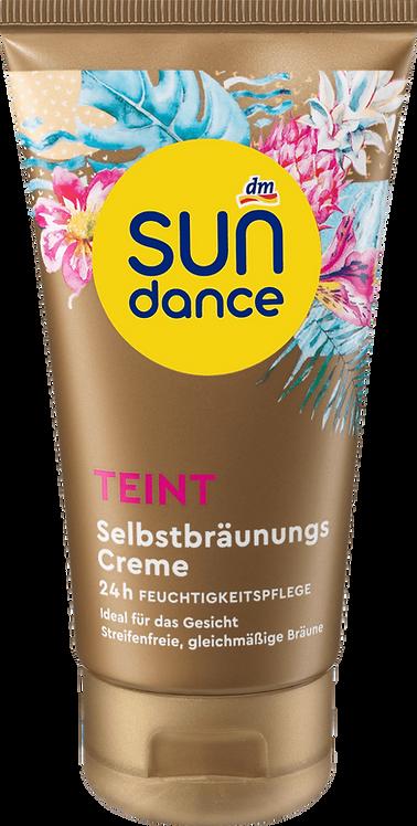 Self-tanning cream, 75 ml