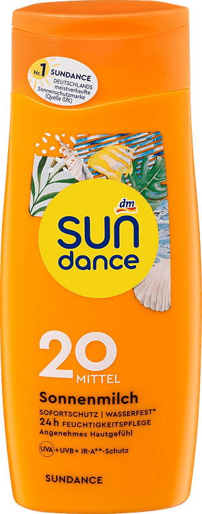 Sun Milk SPF 20 UVA + UVB + IR-A Radiation Protection, 200 ml