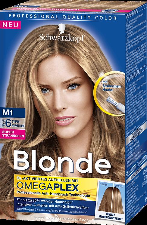 Schwarzkopf Blonde Coloration Super Highlights M1, 133 ml