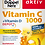 Thumbnail: Vitamin C 1000 with 800 IU vitamin D3 Highly dosed 30 tablets, 41.3 g