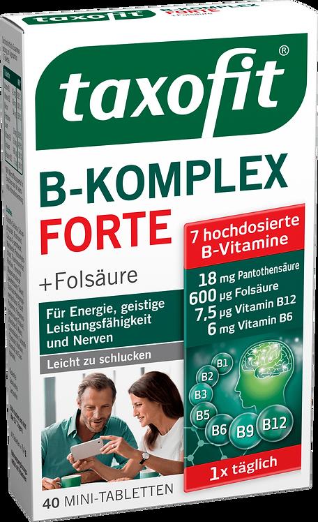 Vitamin B Complex Tablets, 40 pcs