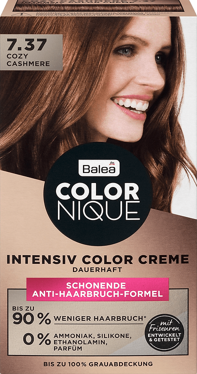 Balea COLORNIQUE Intensive Color Cream Cozy Cashmere 7.37, 145 ml