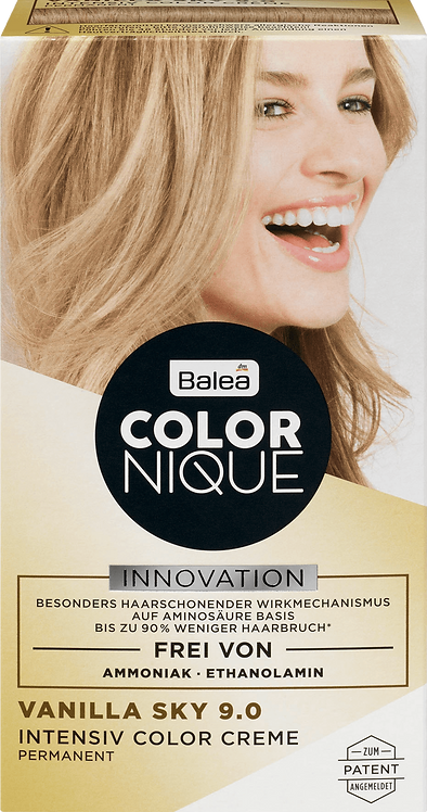 Balea COLORNIQUE Intensive Color Cream Vanilla Sky 9.0, 145 ml