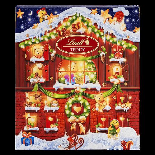Lindt Premium Christmas Small teddy advent calendar, 128g