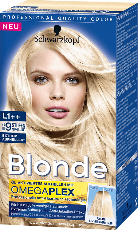 Schwarzkopf Blonde Brightener L1 ++ Omegaplex 143 ml
