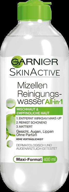 Garnier Micellar Cleansing Water for Combination Skin, 400 ml