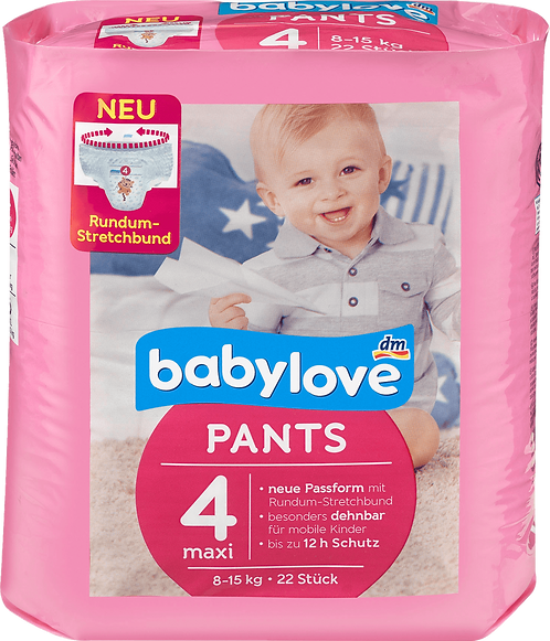 Baby Diapers Pants maxi, 8-15 kg, 22 pc