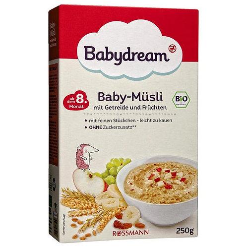 Bio Baby Muesli Baby cereal grains and fruits 250 g