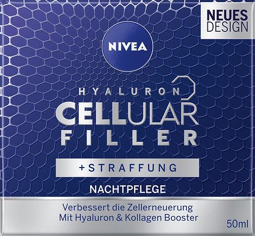 NIVEA Hyaluron Cellular Filler Protective Night Cream , 50 ml