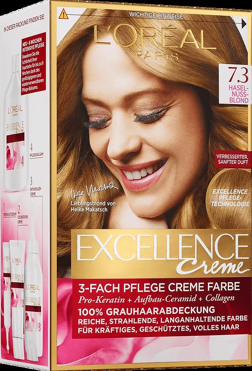 Excellence Coloration Hazelnut Blond 7.3, 1 pc