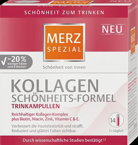 Collagen beauty formula drinking ampoules 14 pcs., 350 ml