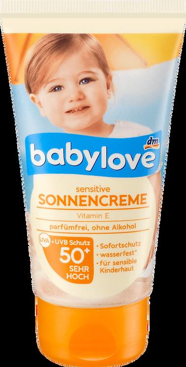 Babe Sunscreen cream for Sensitive Children Skin with SPF 50+, 75 ml