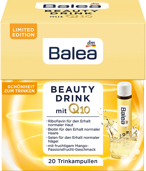 Balea Beauty Drink with Q10 + Vitamin E, B1, B2, B6, 500 ml Dietary supplements