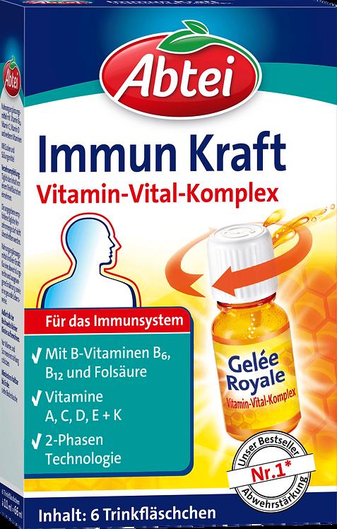 Vitamin Complex A, C, D B2  Immune  System Power drinking bottle 6 pcs, 66 ml