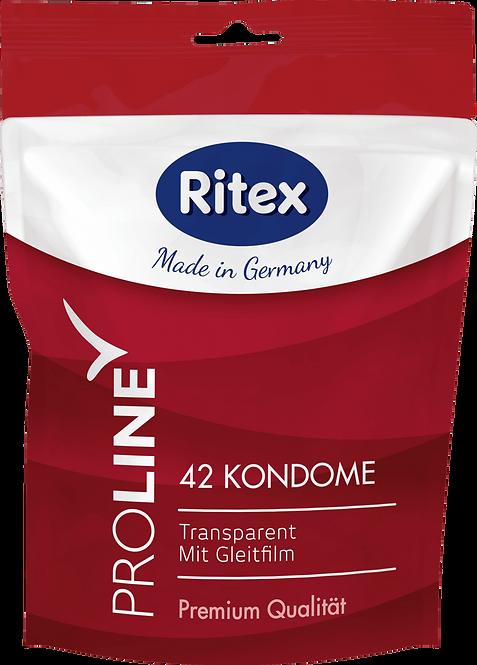 Ritex Proline condoms, 42 pcs