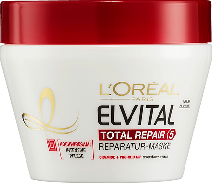 Elvital Hair Treatment Mask Total Repair 5, 270 ml