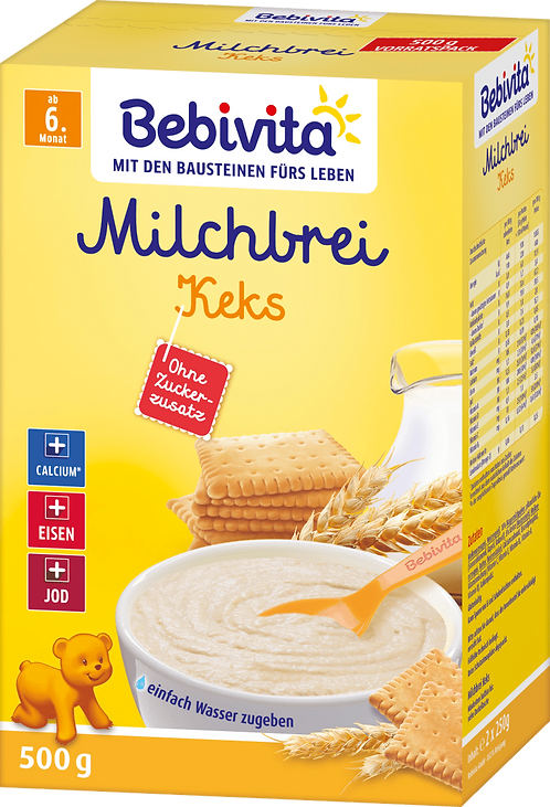 Evening porridge milk biscuit from the 6th month, 500 g