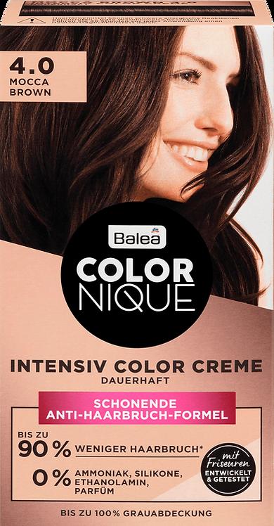 COLORNIQUE Hair Color Hair Color Mocca Brown 4.0