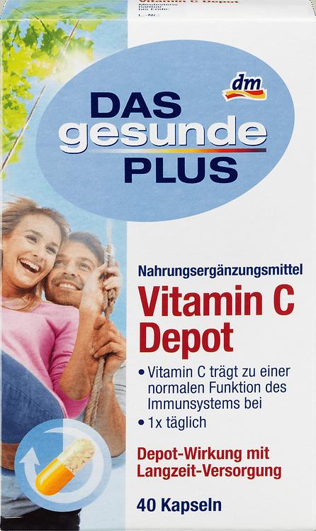 Vitamin C Depot Capsules, 40 pcs