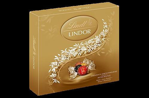 LINDT PREMIUM LINDOR PRESENT BOX MIX, 187g