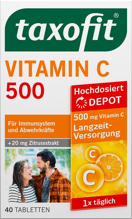 Vitamin C 500 Depot Tablets, 40 pcs
