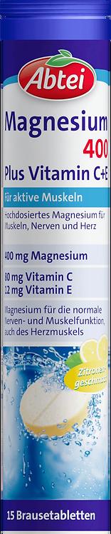 Magnesium 400 + C + E Effervescent 15 St., 81 g