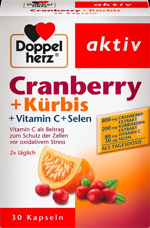 Best Cranberry, Pumpkin, Vitamin C, Selenium 30 Capsules, 27.7 g