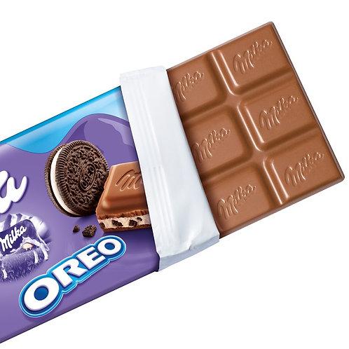 Milka Chocolate Bar Oreo 100g
