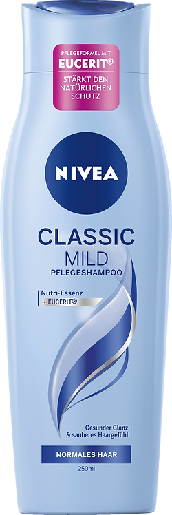 NIVEA Shampoo Classic Mild & Care, 250 ml