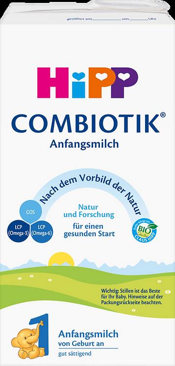 HiPP Stage 1 Baby Formula Bio Combiotik From Birth, 0.45 l