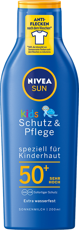 NIVEA SUN Sun Lotion Kids Protection & Care SPF 50+, 200 ml