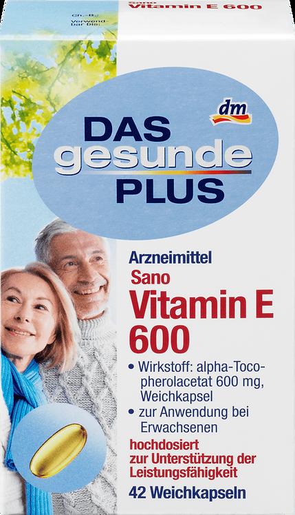 Vitamin E 600 Softgels, 42 pcs