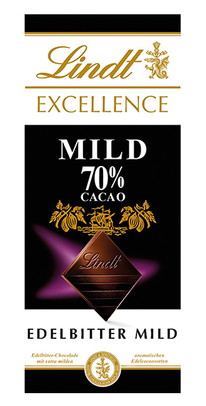 EXCELLENCE 70% MILD, 100g
